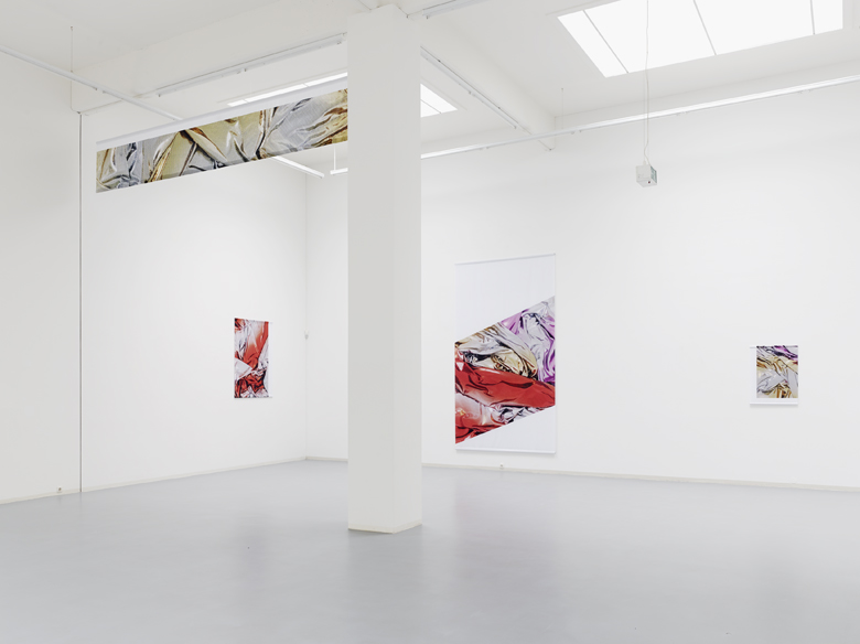 Banners and Cropped Images at Bonner Kunstverein